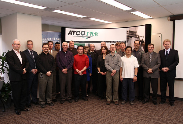 The ATCO I-Tek and City data centre teams