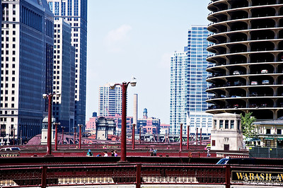 Chicago River Retractable Bridges. In a mere two miles, there are eighteen movable bridges.