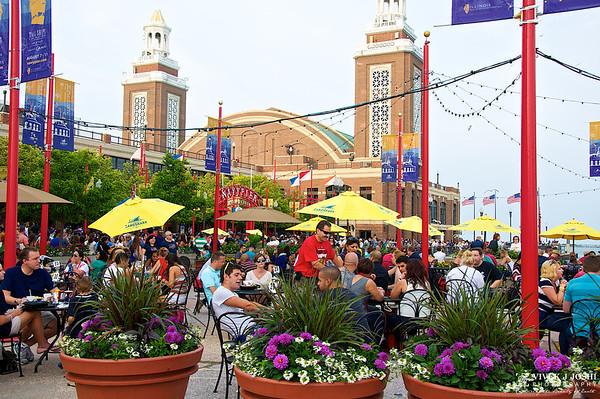 Navy Pier Beer Garden