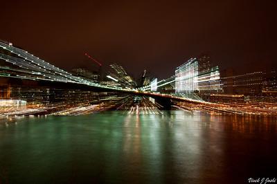 Brooklyn Bridge At Night, NY