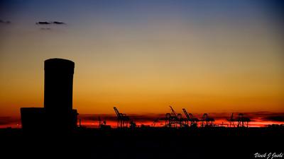 Sunset From Liberty Island