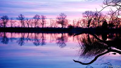 Greenwich Point Park Sunset, CT