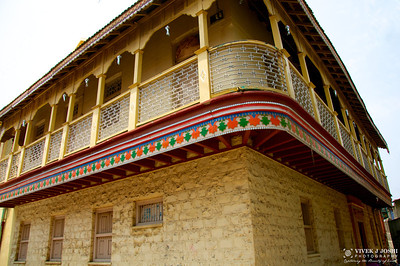 A wada (Marathi वाडा) is a traditional mansion typically in the western part of India.