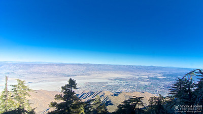 Top View From Aerial Tramway, Palm Springs, CA