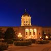 Legislative Building at Dusk