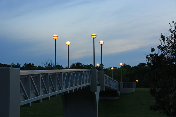 Footbridge Over William Clement Parkway