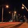 Provencher Bridge at Night