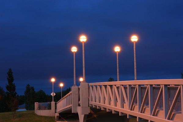Foot Bridge over William Clement Parkway