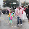 Children marching in Garland's annual NAACP MLK parade