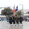 Color Guard  at  Garland's NAACP MLK Day Parade.