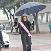 Ms. Texas United America Belinda Ramsey marching in Garland's annual NAACP MLK parade.