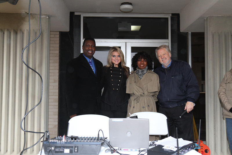 Bill R. Wright President / General Manager KKVI, Lacee Turner, Valder Beebe Talk Show Host, C B. Luce  President of Garland Opry.   Lacee Turner is a professional singer from Texas who emceed Garland's NAACP MLK Day Parade.