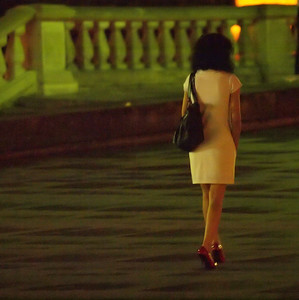 Night in Warsaw. Photo: Martin Bager.