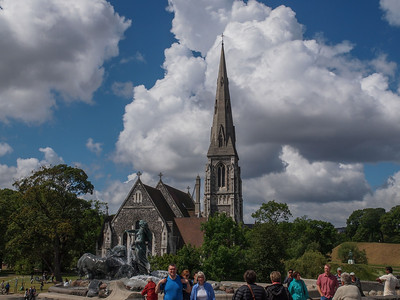 St. Alban's English Church is located in Churchill Park in Copenhagen between the Citadel, Gefionspringvandet and Resistance Museum.