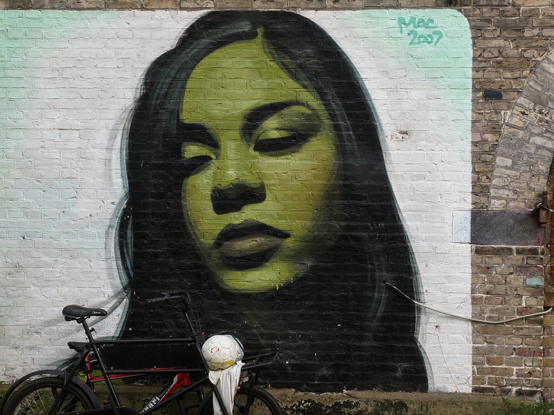 Graffiti in Christiania. Photo: Martin Bager