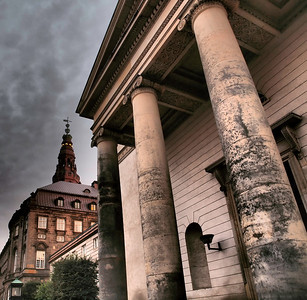 Cph. Christiansborg Castle, church entrance. Photo: Martin Bager