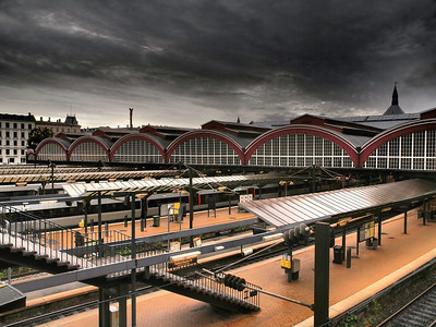 Cph. Central Train Station. Photo: Martin Bager