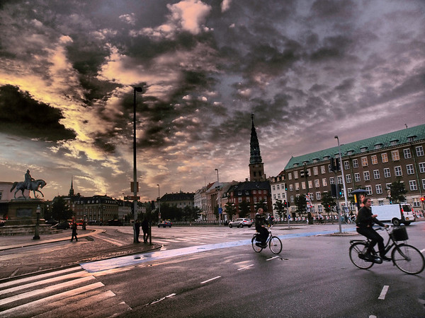 Cph. Christiansborg Castle Square. Photo: Martin Bager
