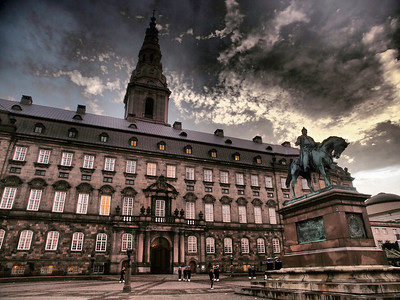 Cph. the government building, Christiansborg. Photo: Martin Bager