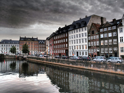 Cph. Nybrogade in City. Photo: Martin Bager.