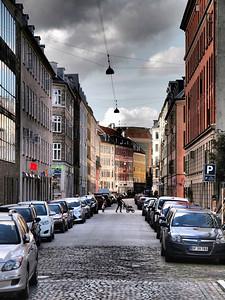 Cph. Viktoriagade, Vesterbro. Photo Martin Bager