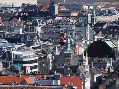 Copenhagen from above. Photo: Martin Bager.