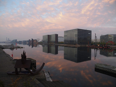 Copenhagen waking up. Photo: Martin Bager.