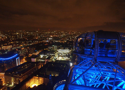 London aerial photography panorama from the London Eye. Photo: Martin Bager.
