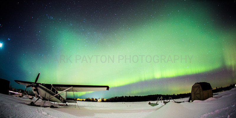 Aurora over 6 MIle Lake