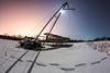 Seaplane Wintering<br /> <br /> Canon 5D MK III<br /> Canon EF 15mm f/2.8 Fisheye<br /> 6 Mile Lake, Alaska