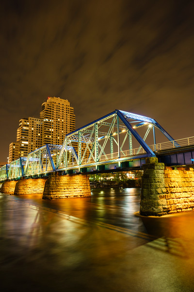 Blue Bridge, Grand Rapids, MI