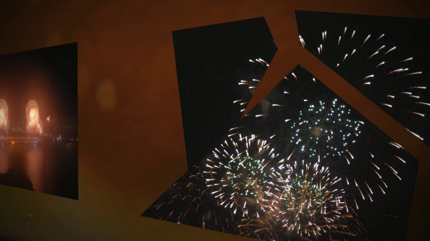 Golden Gate Bridge Fireworks-75th Anniversary