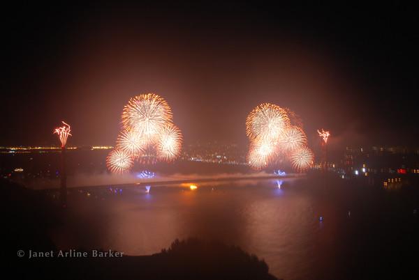 San Francisco-Golden Gate Bridge Fireworks