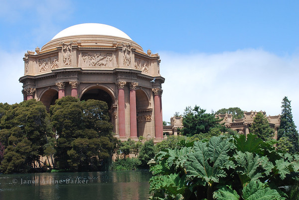 San Francisco-Palace of Fine Arts