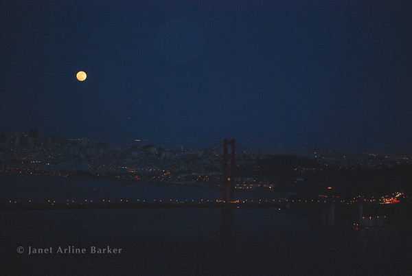 San Francisco-Super Moon 2012