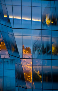 Blue and Gold - Reflections
