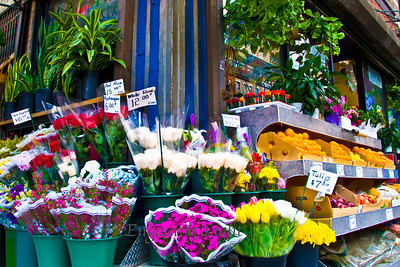 Corner Flower Stand