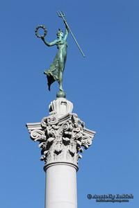 Victory Statue in Union Square, San Francisco, California.