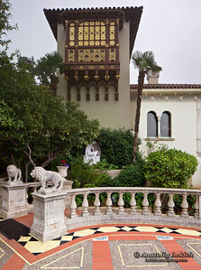 Hearst Castle is a National Historic Landmark mansion in San Simeon, California.