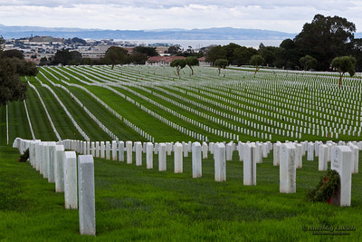 Golden Gate National Cemetery is a U.S. National Cemetery, San Bruno, CA.