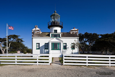 Point Pinos Lighthouse, Pacific Ocean, California, U.S.A.