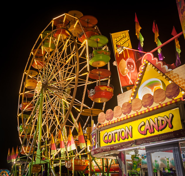 Retro Night at the Fairgrounds
