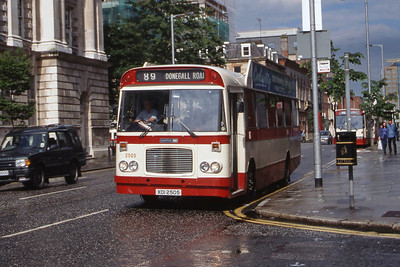 Citybus 2505 Donegall Square Belfast 2 Jul 98