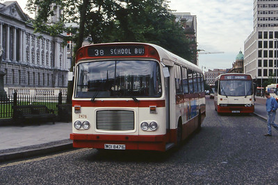 Citybus 2476 Donegall Square Belfast Jun 99