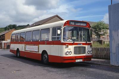 Citybus 2483 Mountainhill Rd Ligoneil Belfast 2 Jun 99