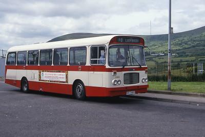 Citybus 2483 Mountainhill Rd Ligoneil Belfast 1 Jun 99