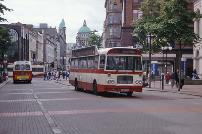 Citybus 2498 Royal Ave Belfast Belfast Jun 99