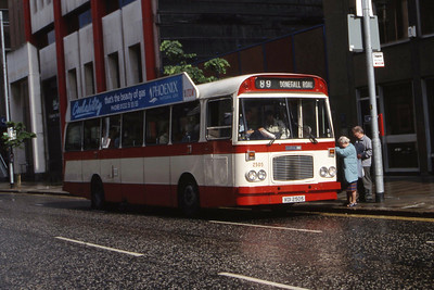 Citybus 2505 Donegall Square Belfast 1 Jul 98