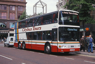 Citybus 2000 Castle Place Belfast Belfast Jun 99