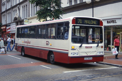 Citybus 634 Royal Avnue Belfast Aug 97